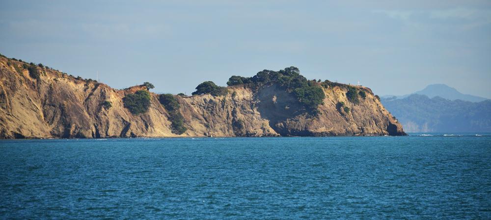 Island forshore.
