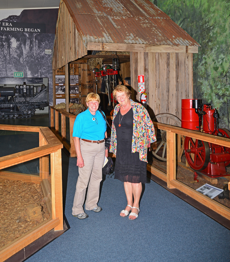 Kathleen Brader and Museum CEO Betty Nelly